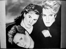 Duran Duran Poster by Melissas-Artwork