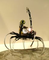 The arachno-technoid 5 by clemcrea