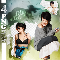 PNG PACK (130) Lily Allen by DenizBas