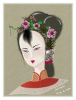 Ancient Chinese Lady by suzhou-taohuawu