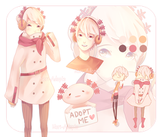 [CLOSED] Axolotl Shouta Adopt Auction by Nori-Adopts
