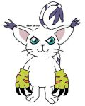 Gatomon in MS Paint by OneLonelyPickle