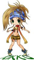 FF Chibi Rikku by MiKa-dorable