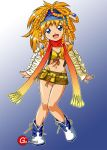 Roll Cosplaying As X-2 Rikku by Goldsickle