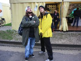 Jay and Silent Bob by Gimma