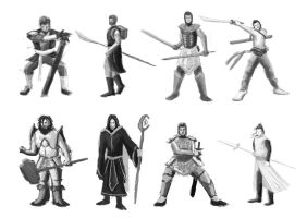 Character Ideas by kingmancheng