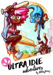 ULTRA IDLE adventures' first cover! by glitchyberry