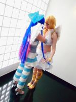 Panty and Stocking: We are Angels :D by xenia1369