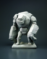 Golem Clash of Clans by MyMiniFactory