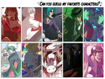 That Favorite Characters Thing by Spritetacular