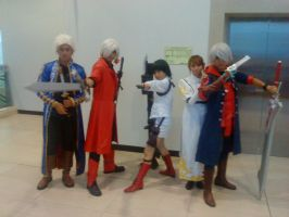 Devil May Cry cosplayers by thereanimatedunknown