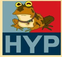 Hypnotoad for Prez by donnerfaust