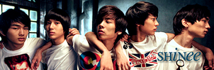 SHINee banner by ohxxemetophobia