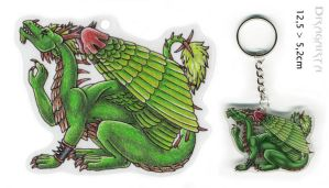 Keychain for Forestia by Dragarta