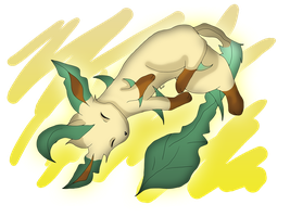 Leafeon remake by xXKaWaii-RuKiaXx