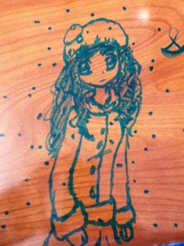 Yay for more desk doodling by UlquiHime-NaruHina