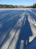 Long shadows by Wolverica