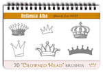Brushset 21: Crowned Head by Ruthenia-Alba