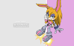 S.C Bunnie Redesigned Wallpaper by E-122-Psi