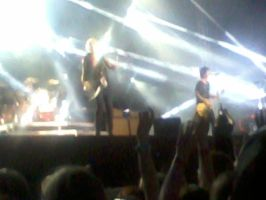 GREEN DAY CONCERT - BILLIE, MIKE AND TRE by Diamond-Racer