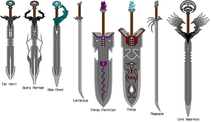 Swords of the Ages by FadeAwayAngel