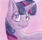 Twilight Sparkle Painting Test by zeaeevee