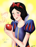 Snow White by KathytheGoth