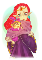 A Link Between Worlds -- Uncle Yuga by onisuu