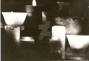 black and white by candlelight by Bex013