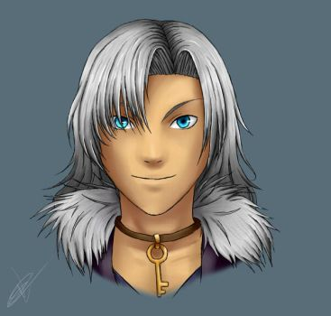 Xenoblade - Alvis by Irelza
