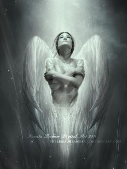 White Angel by ThelemaDreamsArt