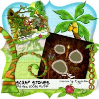 scrap stones quick page by MizzKitten21