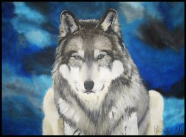 Another Wolf by hannord