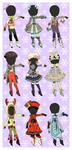 OPEN: WINTER CLOTHES AUCTION by Lolisoup