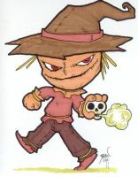 Chibi-Scarecrow. by hedbonstudios
