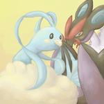 Pokeddexy day 3 - Altaria and Noivern by CasualKix