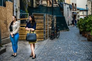 Young Girls In Old Town by Rikitza