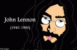 John Lennon Legend by TomTrager
