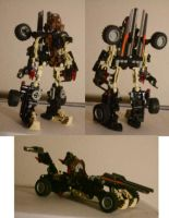 Mech Bionicle Project: Pohatu by yamis