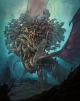 Ladon,The 100 Headed Dragon by Utas