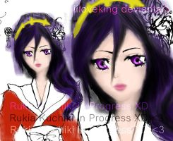 Rukia Kuchiki by iiloveking