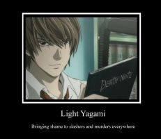 Light Yagami by I-Major-In-Magick
