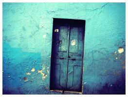 the blue door by thanuU