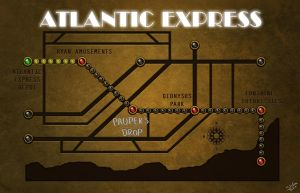 Atlantic Express Map by Spetit05