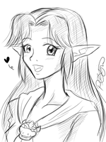 Malon - Sketch by KimMcCloud