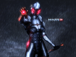 Mass Effect 3 Phantom Rain Edition Vol 1 by RedLineR91