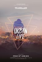 Urban Life Flyer Template by styleWish