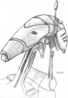 Battle Droid OOM-9 by blue-but-beautiful