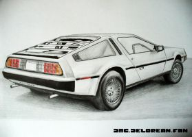 DMC-DeLorean by DMC-DELOREAN-FAN