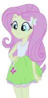 EQG Fluttershy by russell4653